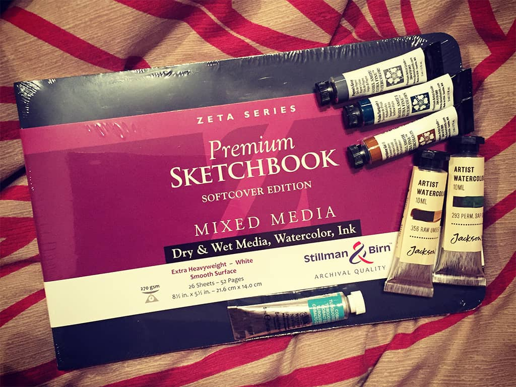 Whats the best sketchbook for urban sketching
