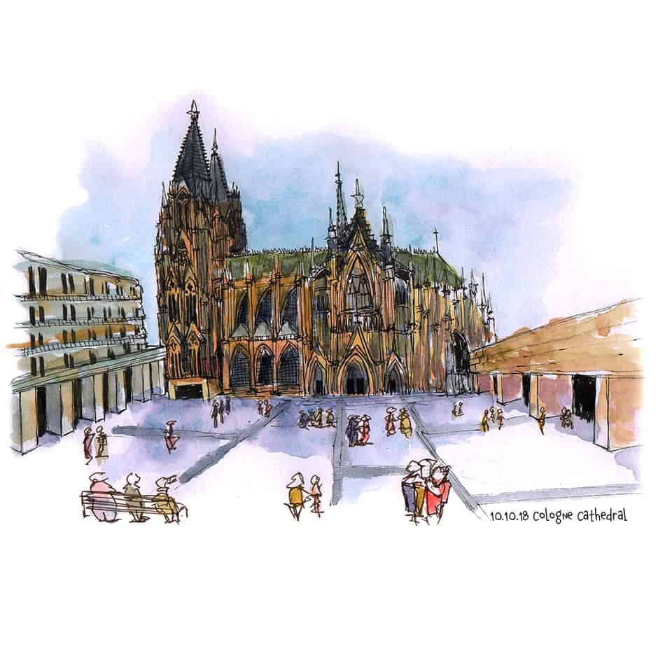Ideas to sketch - churches