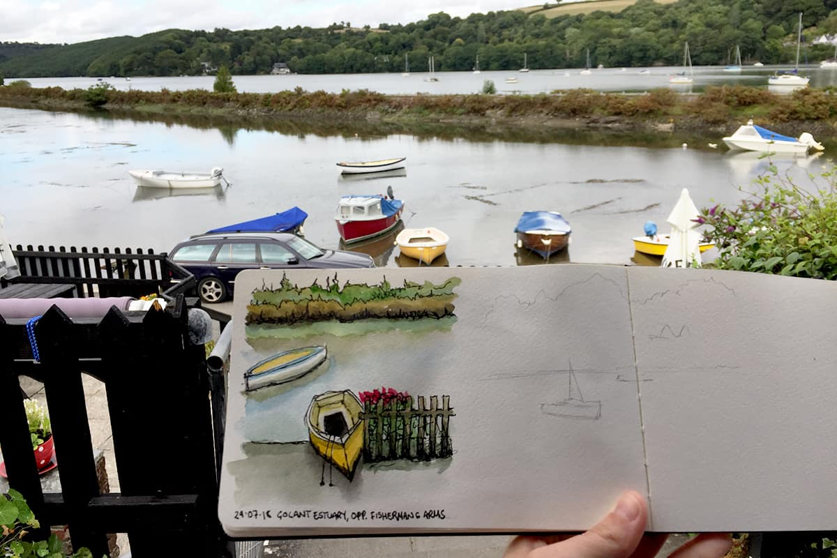 Urban sketching and mindfulness