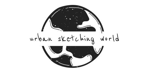 Urban Sketching World logo