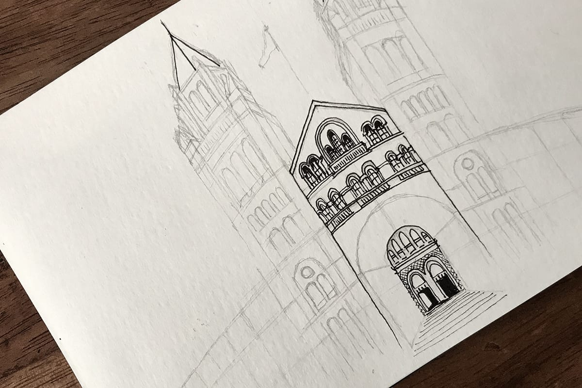 How to start an urban sketch