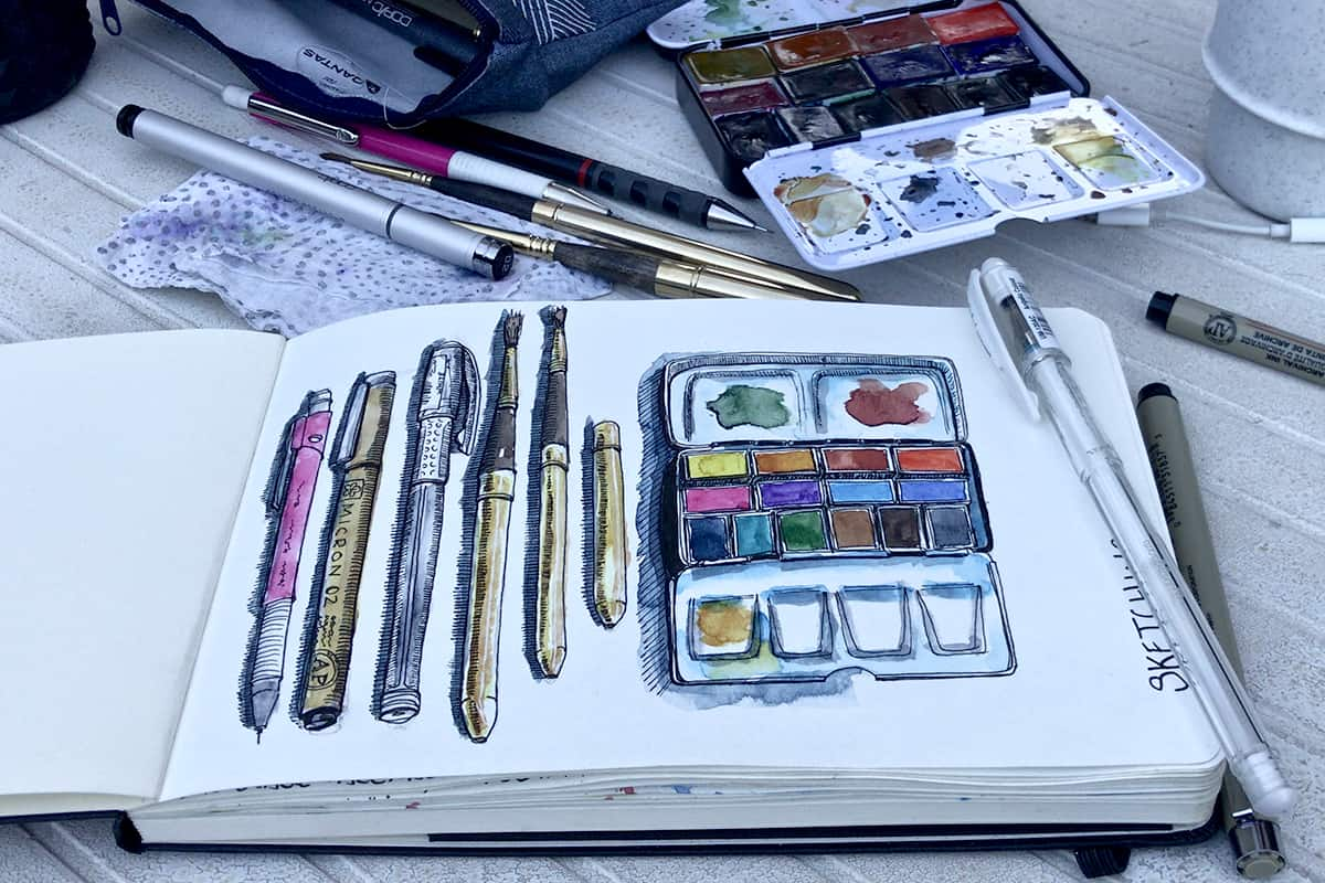 A Practical Beginners Guide to Urban Sketching