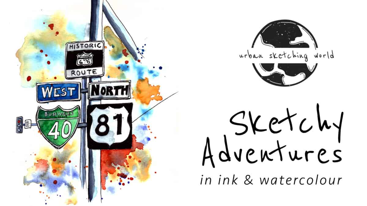 Sketchy Adventures in Ink and Watercolour