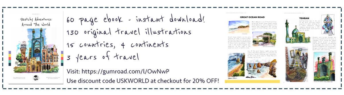 Sketch Adventures Around The World ebook