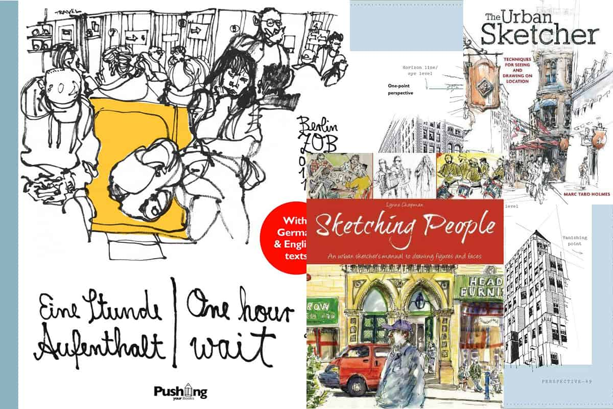 Books about urban sketching
