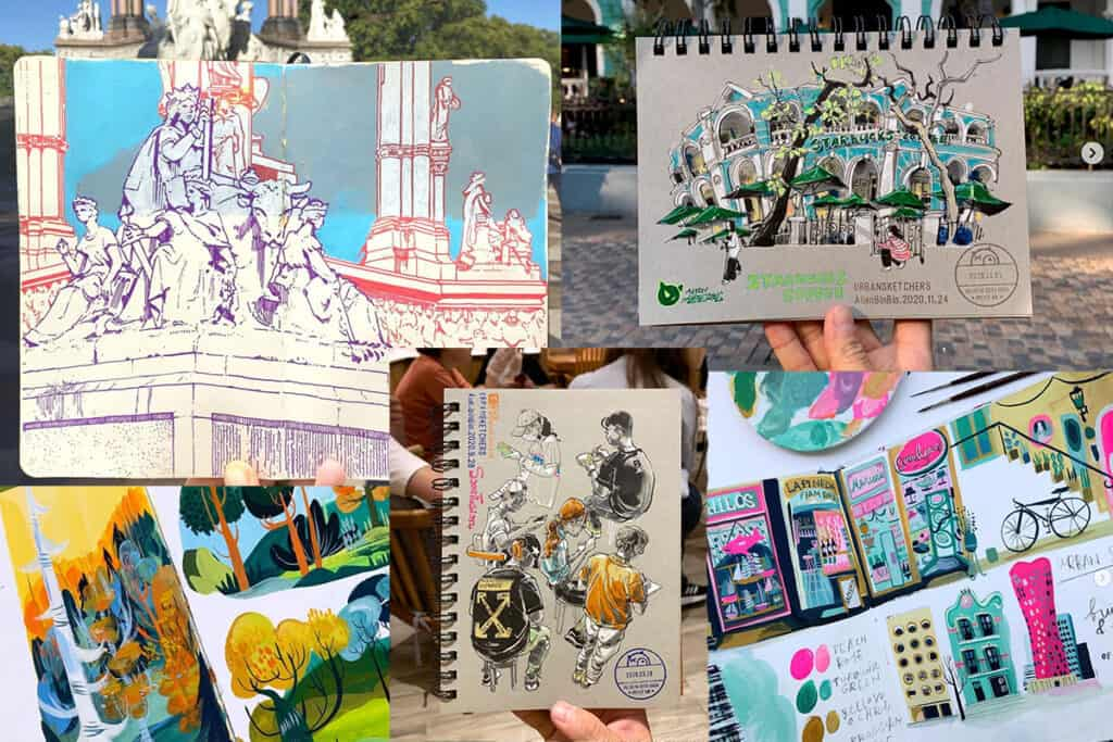 Urban Sketchers to follow in 2021