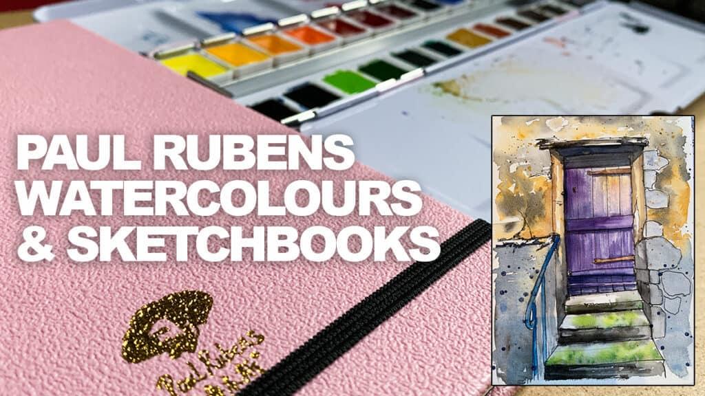 Paul Rubens Watercolour Set